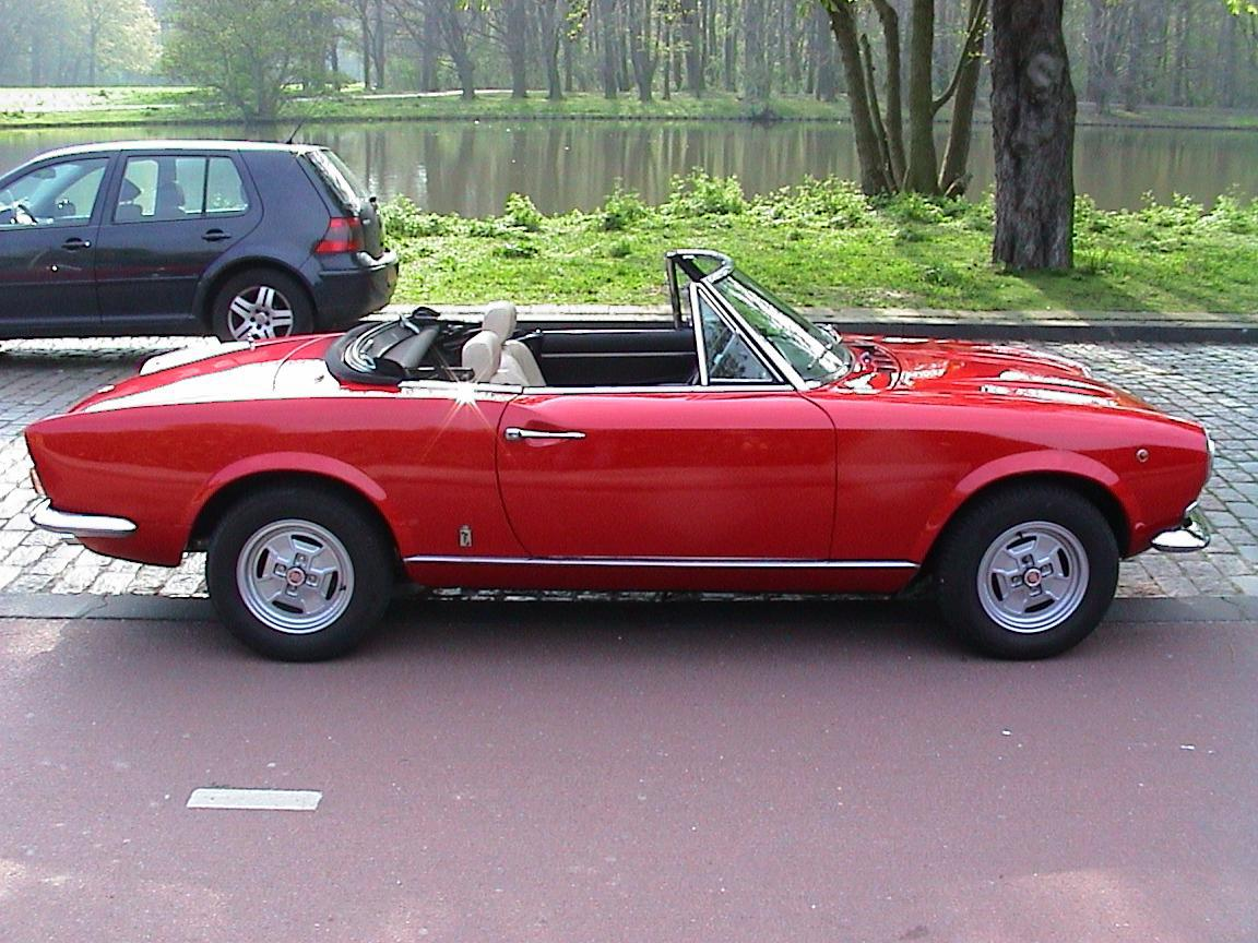 fiat 124 sport spider. Black Bedroom Furniture Sets. Home Design Ideas