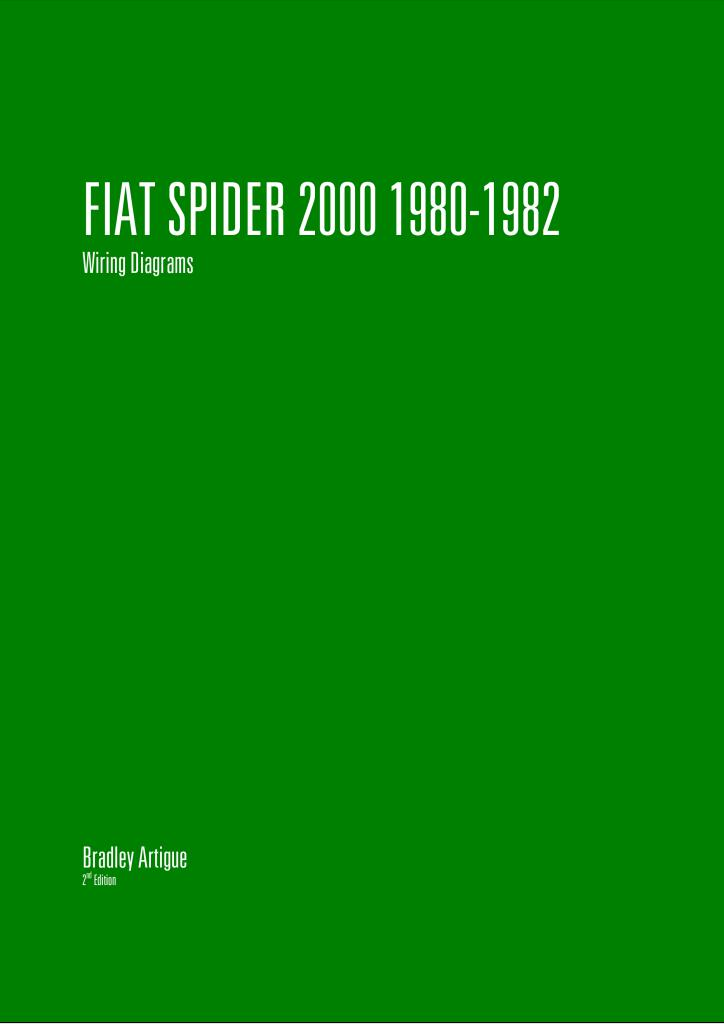 1980 fiat spider 2000 wiring diagrams.pdf (260 kb) - repair manuals -  english (en)  fiat club