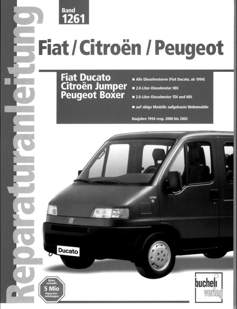 1994 Fiat Ducato Repair Manual Pdf  215 Mb