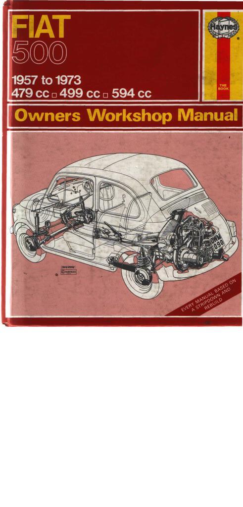 Fiat 500 Owners Workshop Manual Pdf  13 Mb